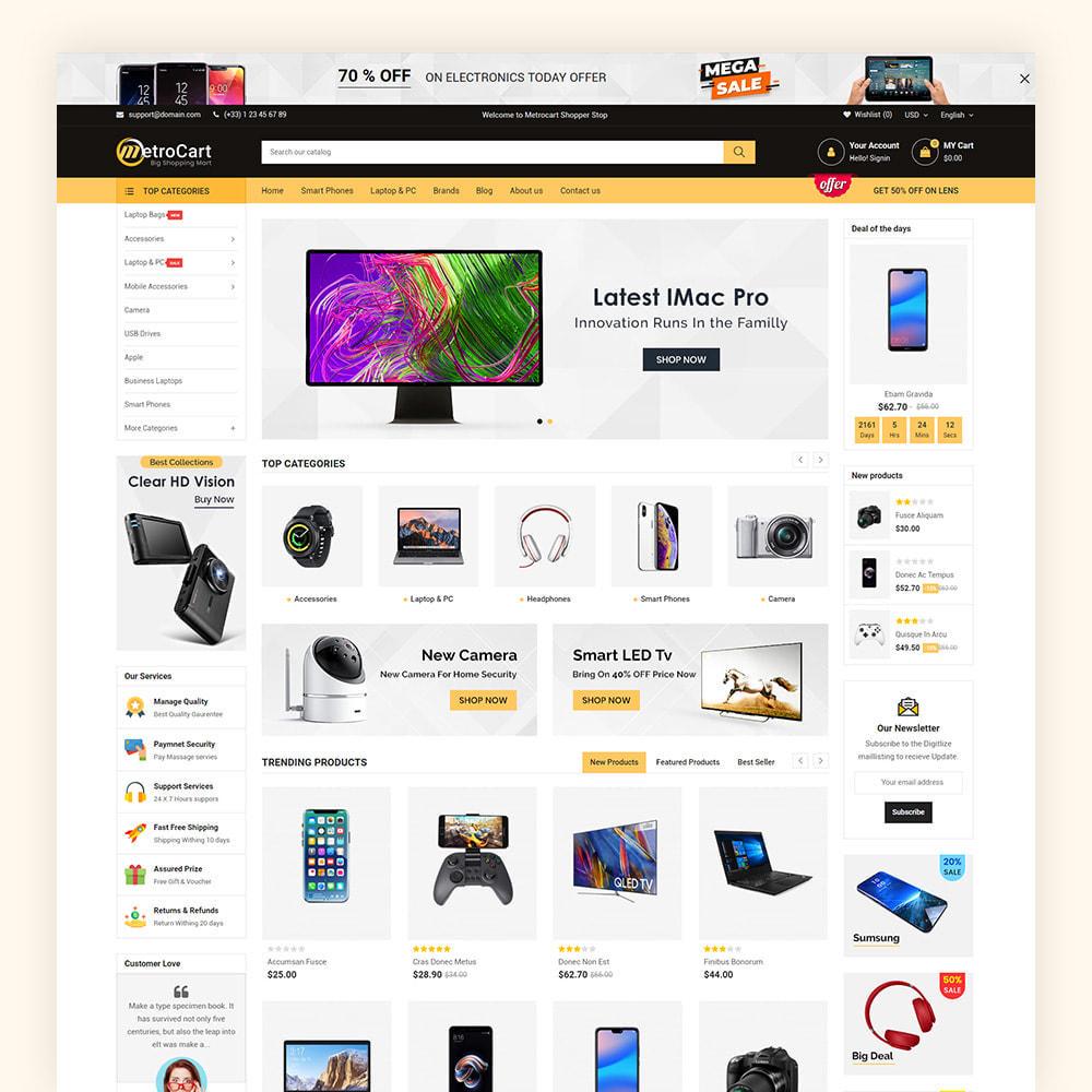 theme - Electronique & High Tech - Metrocart Mega Electronics Store - 3