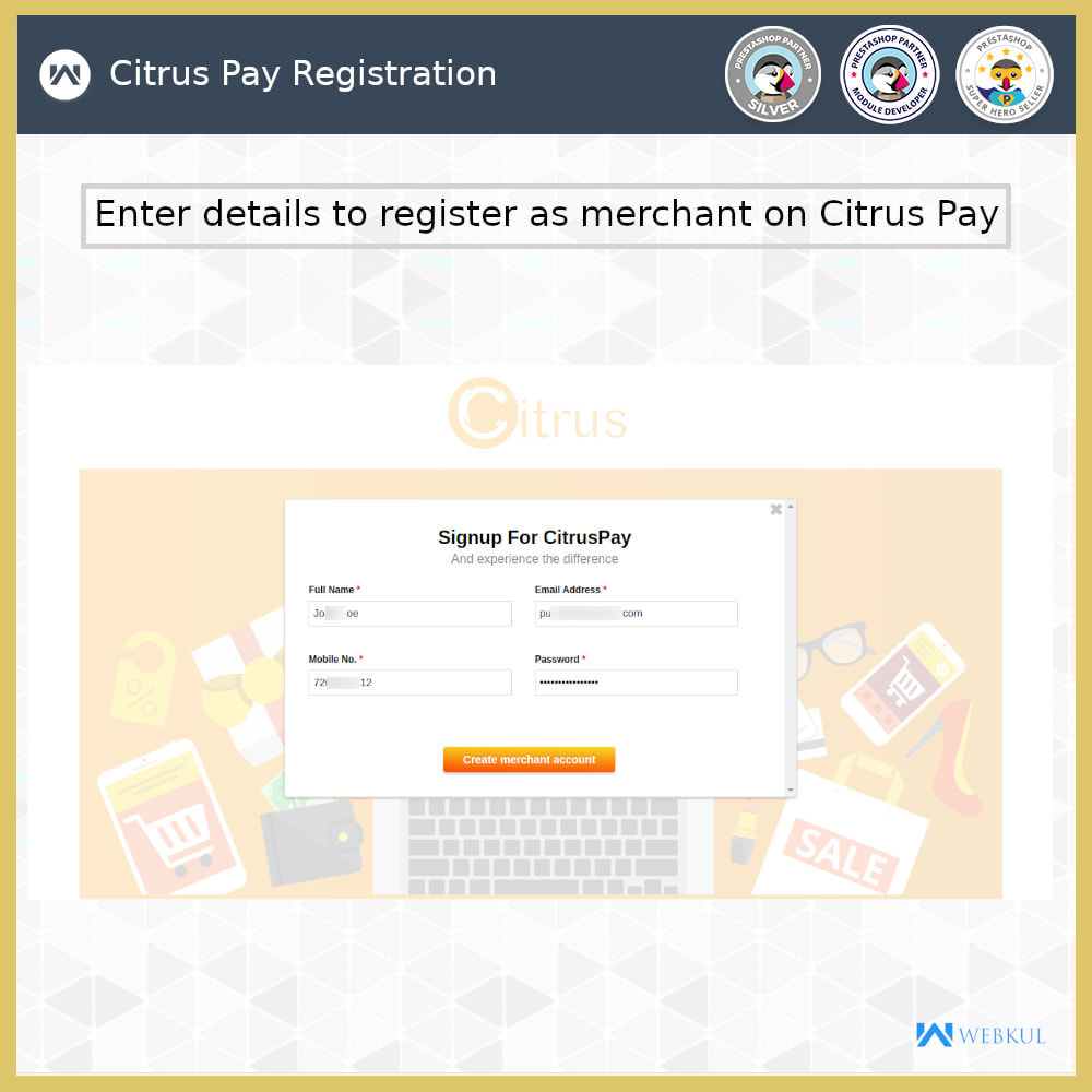 module - Payment by Card or Wallet - Citrus Pay Payment Gateway - 8