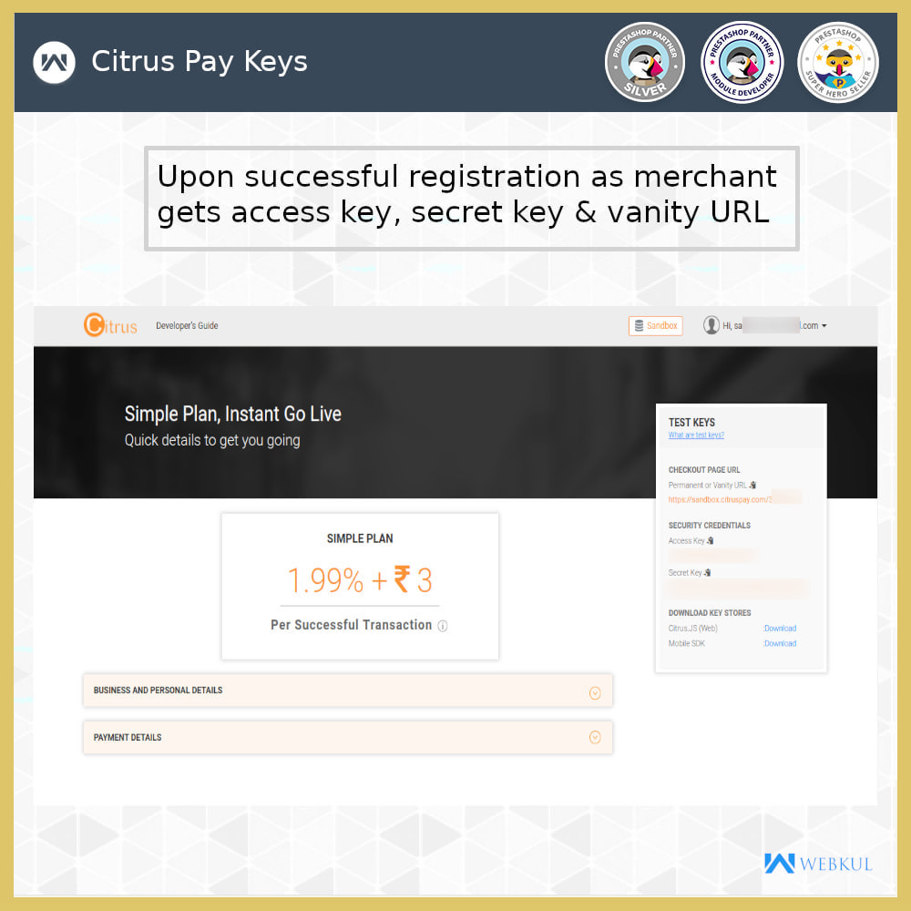 module - Payment by Card or Wallet - Citrus Pay Payment Gateway - 9