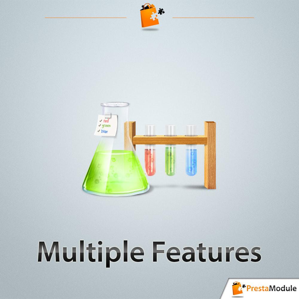 module - Recherche & Filtres - Multiple Features - Caractéristiques sans limite - 1