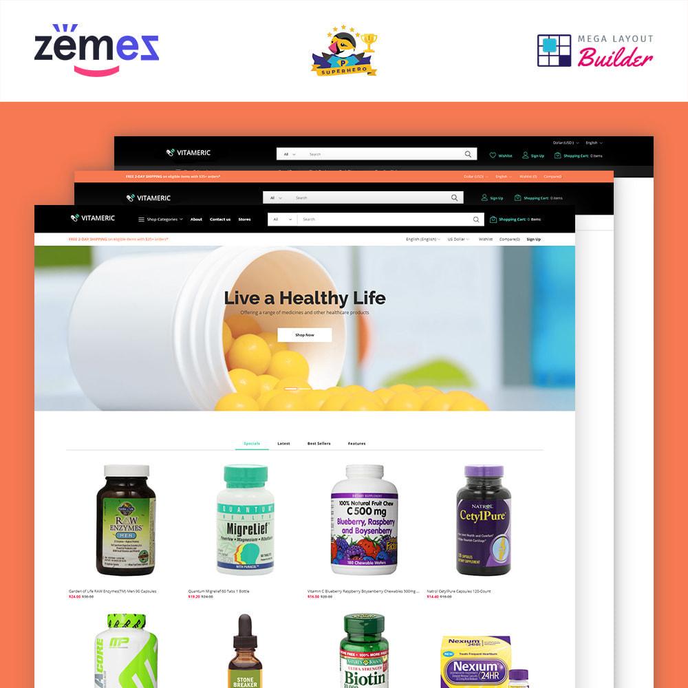 theme - Salud y Belleza - Vitameric - Medical Store - 2