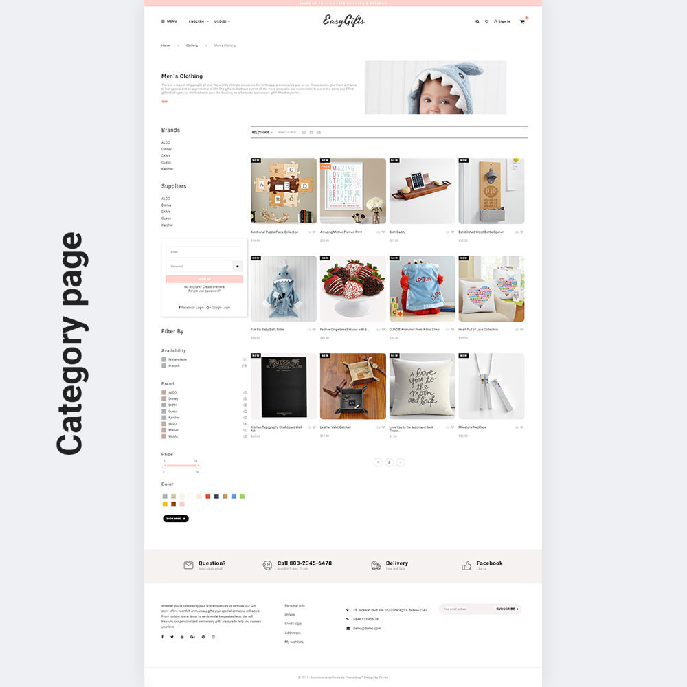 theme - Cadeaux, Fleurs et Fêtes - EasyGifts - Giftware Store - 6