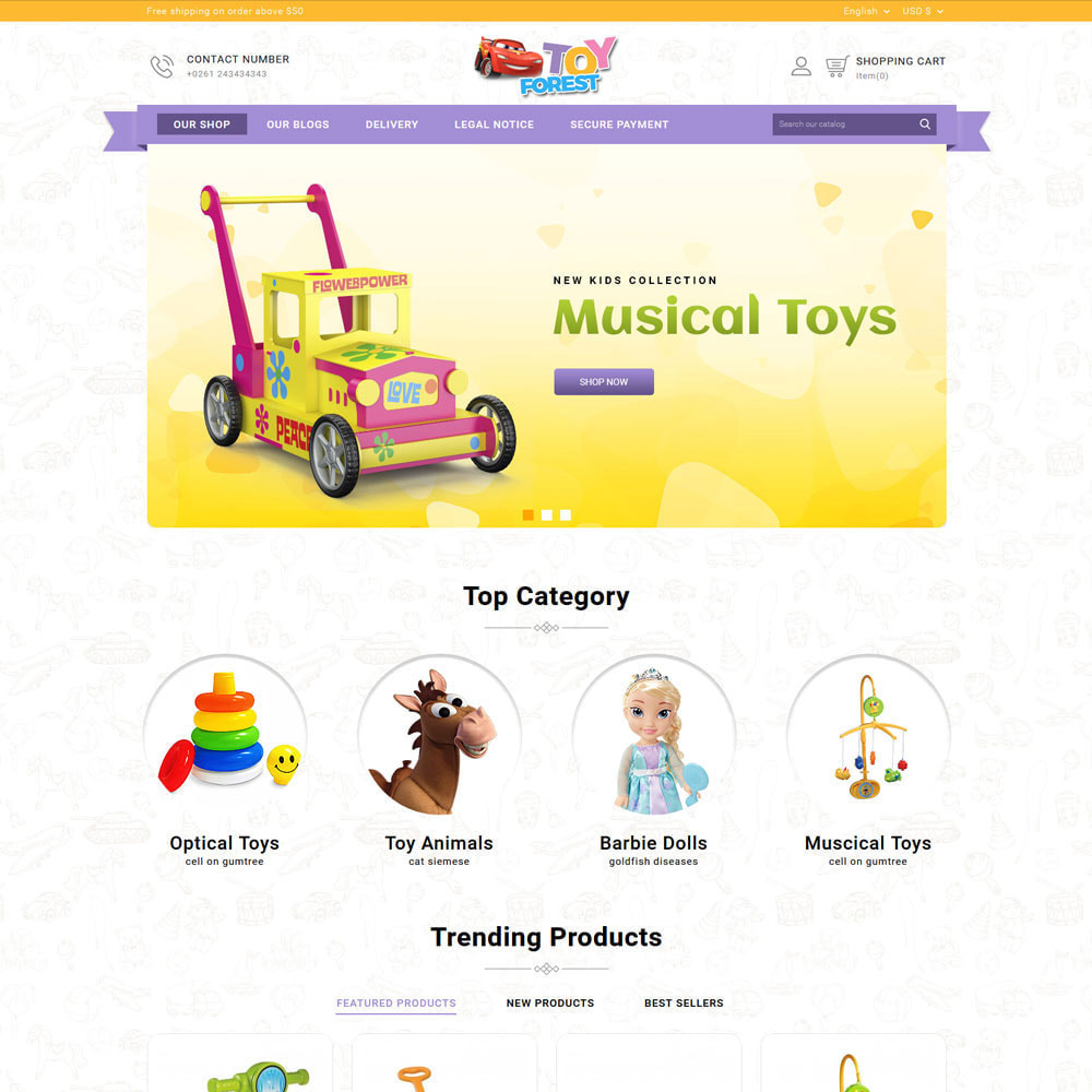 theme - Niños y Juguetes - ToyForest - The Kid Store - 5