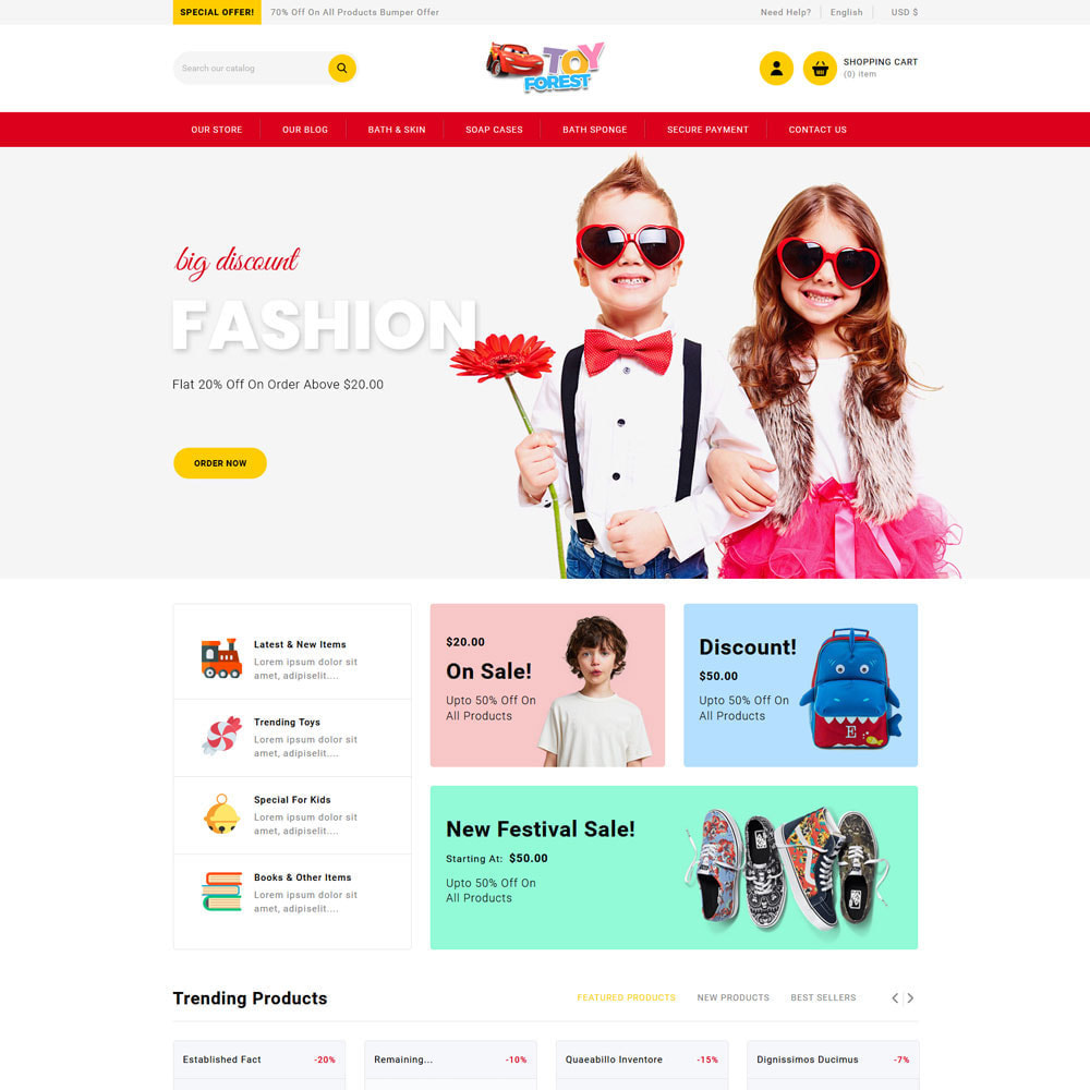 theme - Niños y Juguetes - ToyForest - The Kid Store - 7