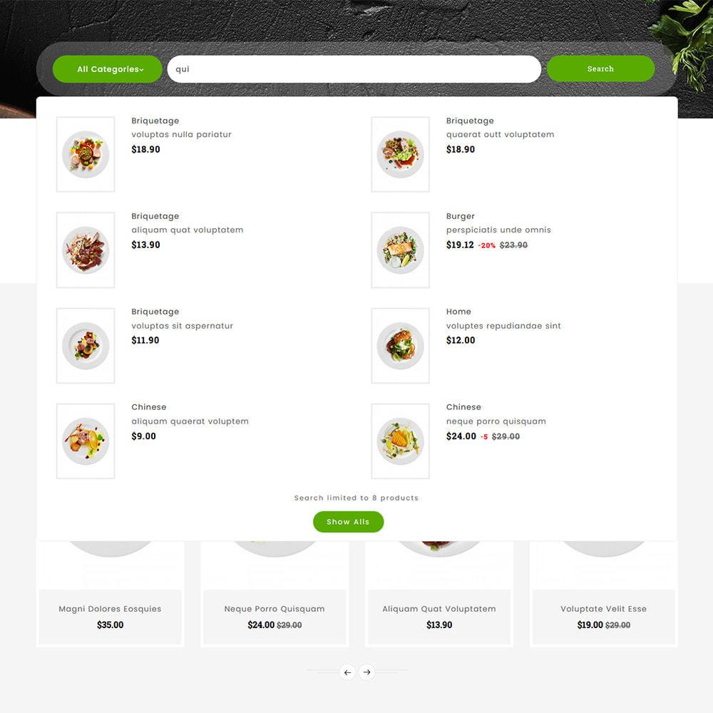 theme - Lebensmittel & Restaurants - Gusto Food - Restaurant Dishes - 10