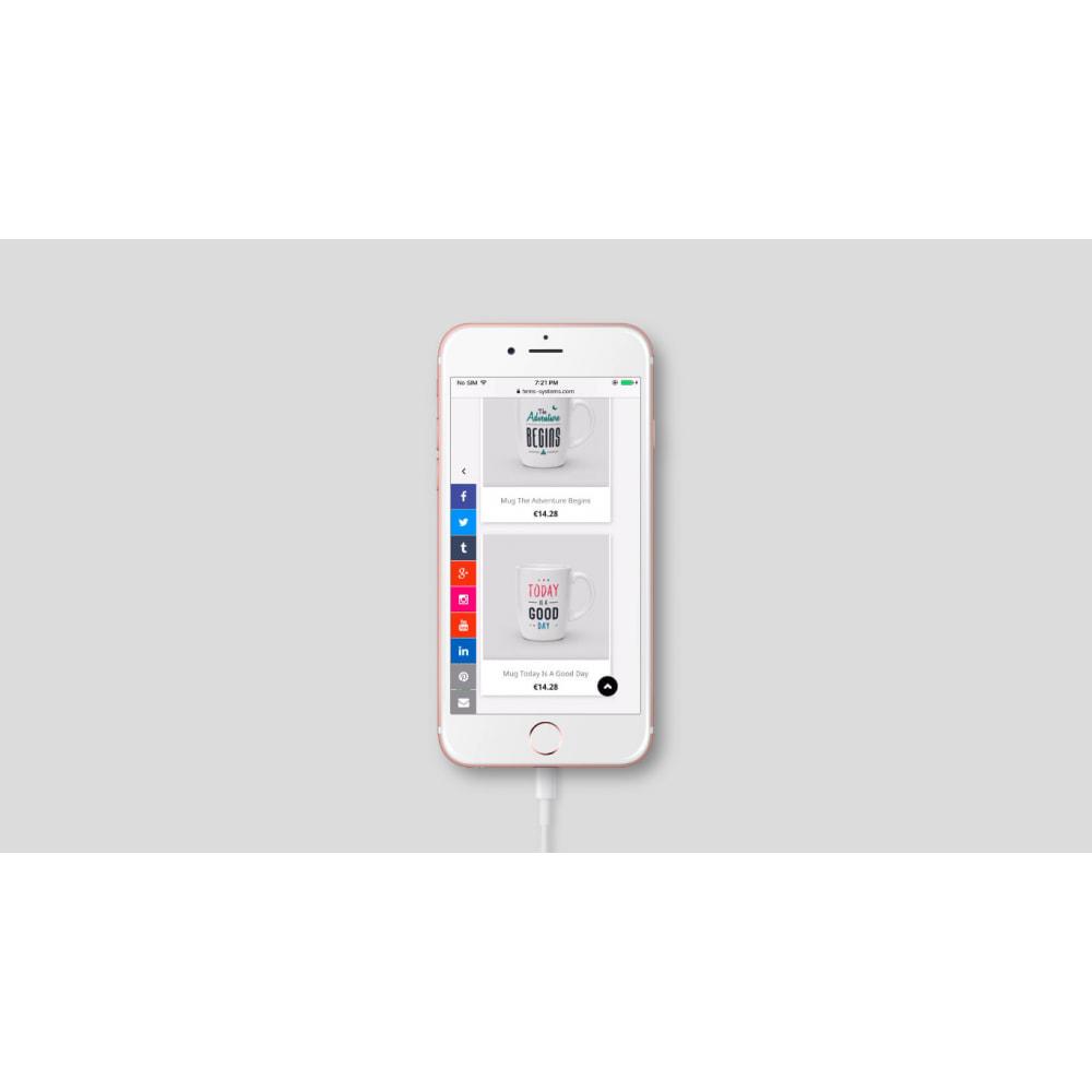 module - Widgety serwisów społecznościowych - Przyciski łączy boczny pasek mediów społecznościowych - 3