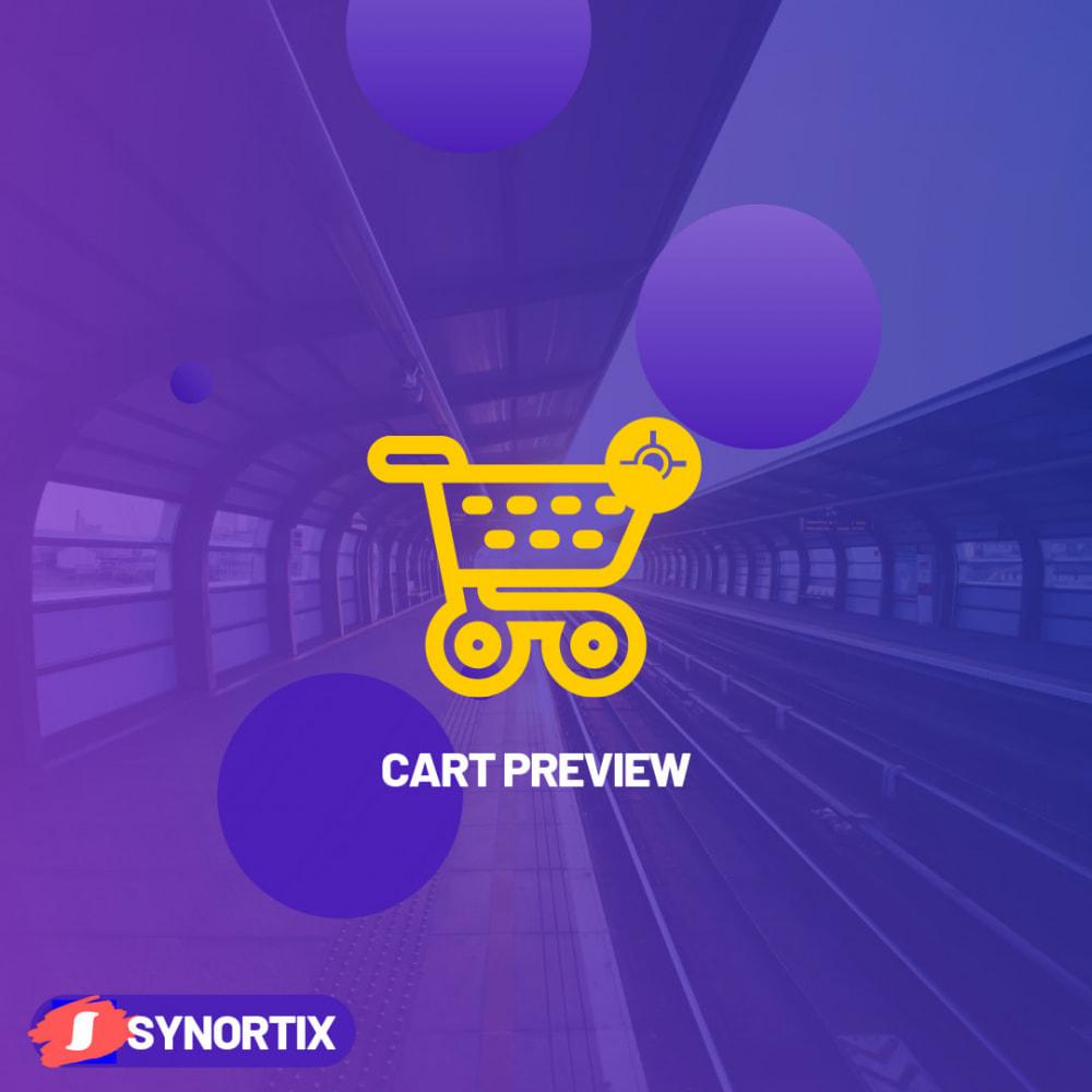 module - Pегистрации и оформления заказа - Cart Preview - 1