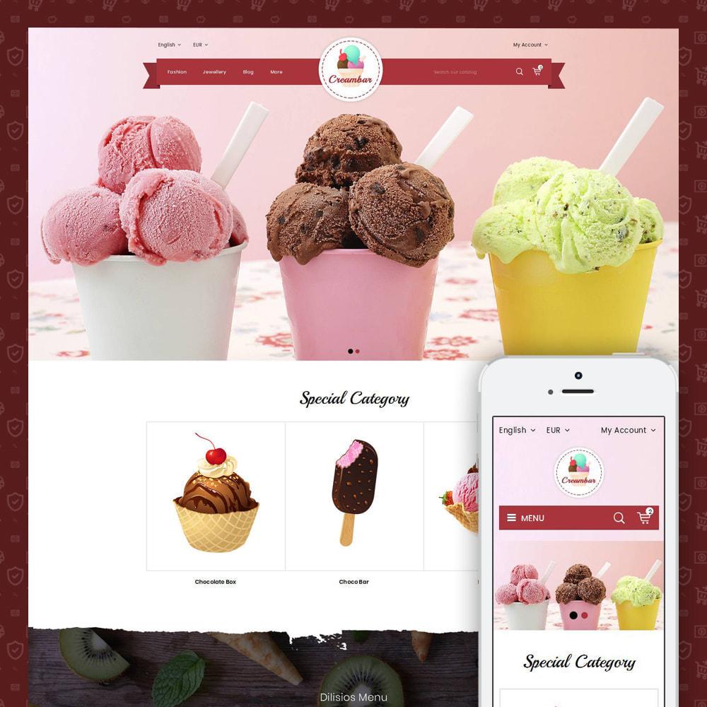 theme - Gastronomía y Restauración - Creambar - Ice Cream Store - 1