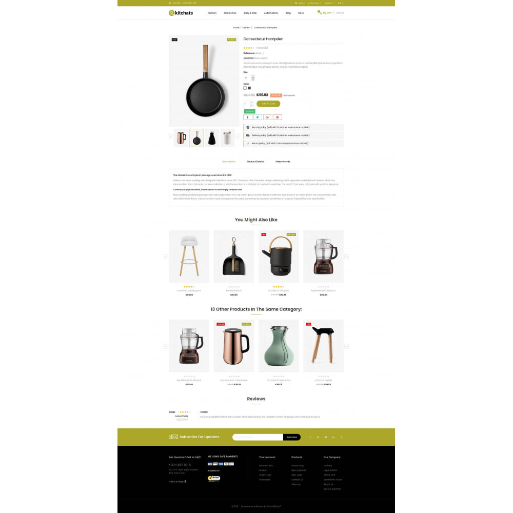 theme - Heim & Garten - Kitchats - Kitchen Accessories Store - 5