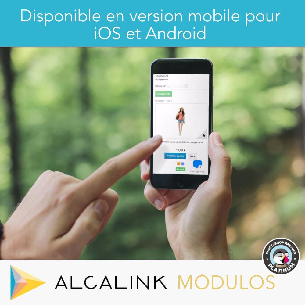 module - Support & Chat Online - Bouton de chat - 5