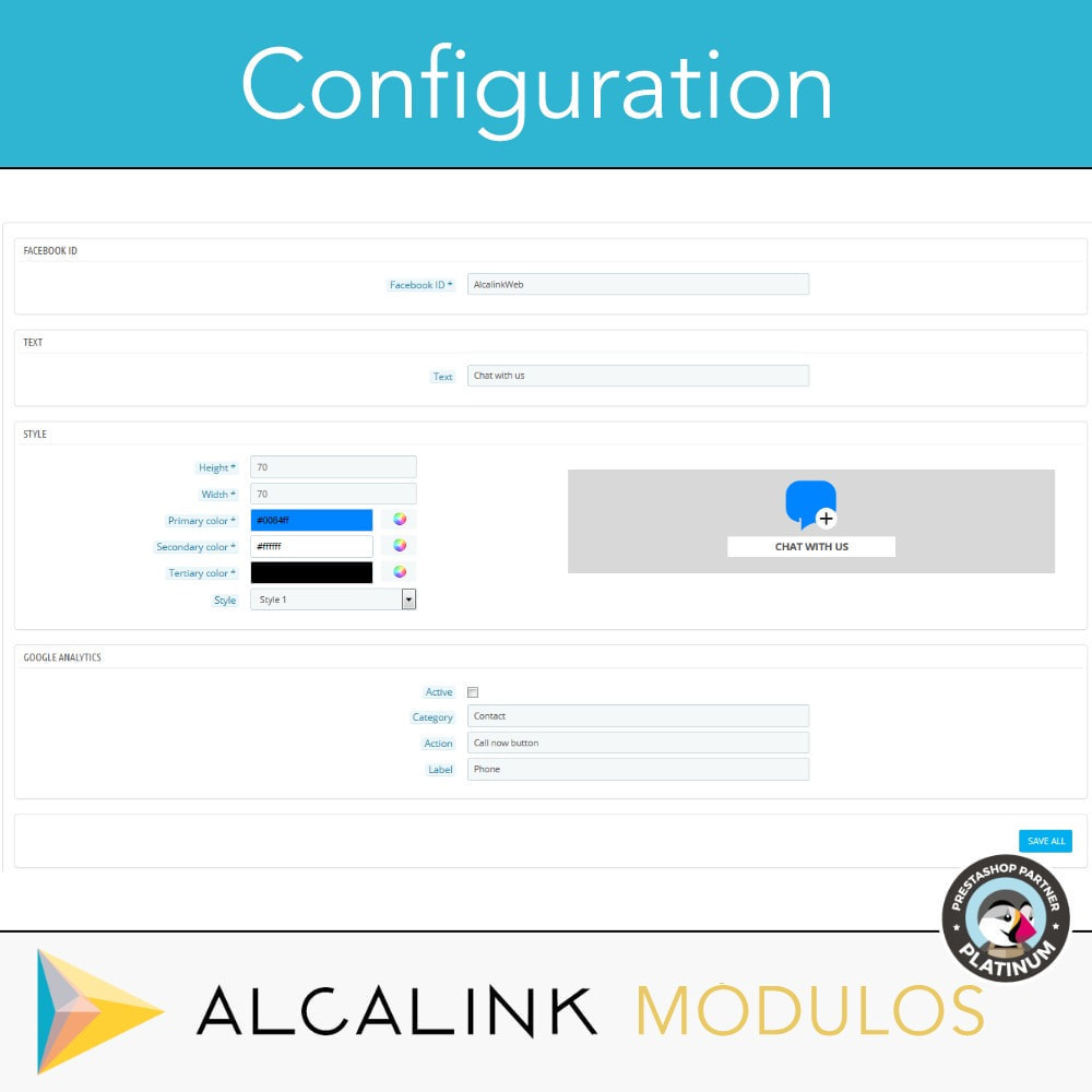 module - Support & Online Chat - Contact Chat Button - 2