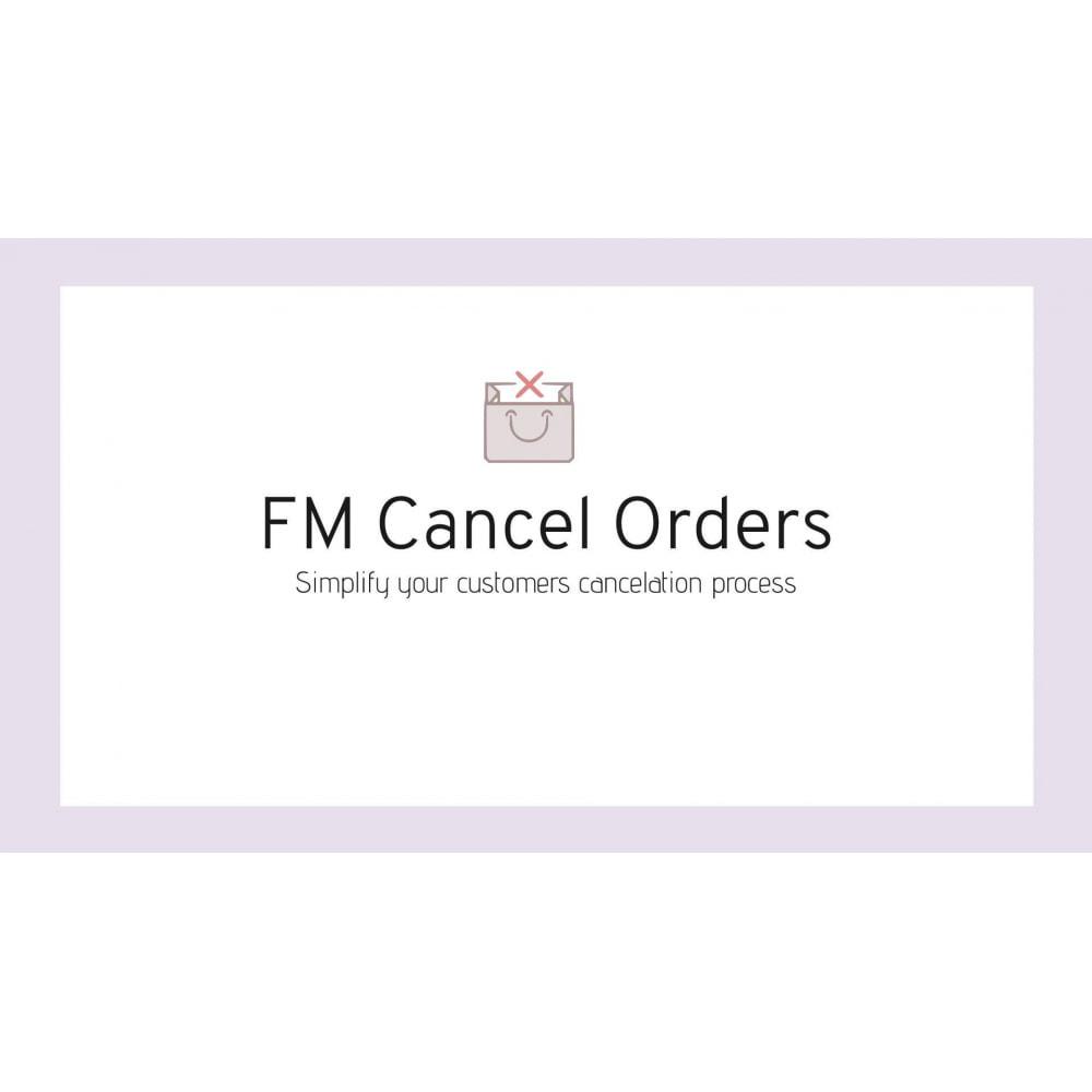 module - Auftragsabwicklung - FM Cancel Order Easy Process - 1