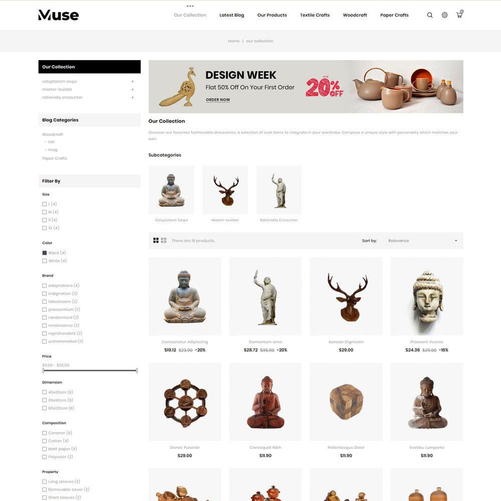 theme - Arte & Cultura - Muse - negozio d'arte - 6