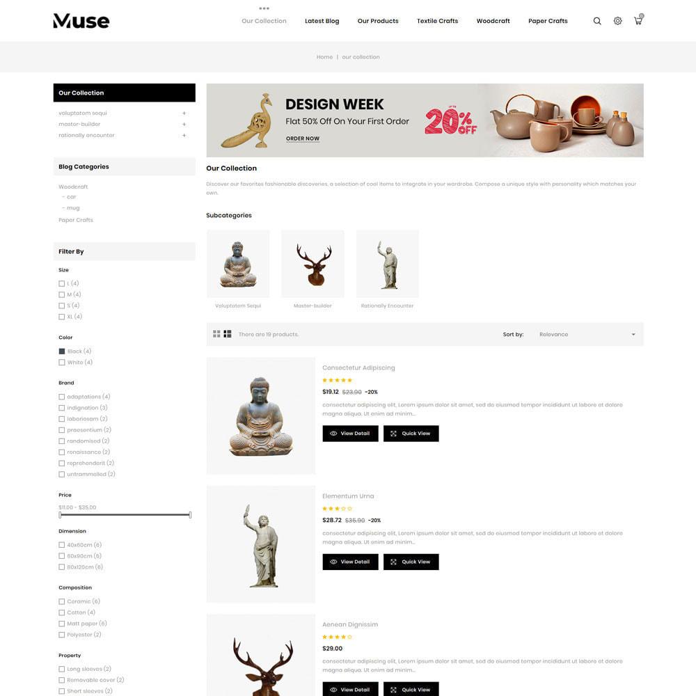 theme - Arte & Cultura - Muse - negozio d'arte - 7