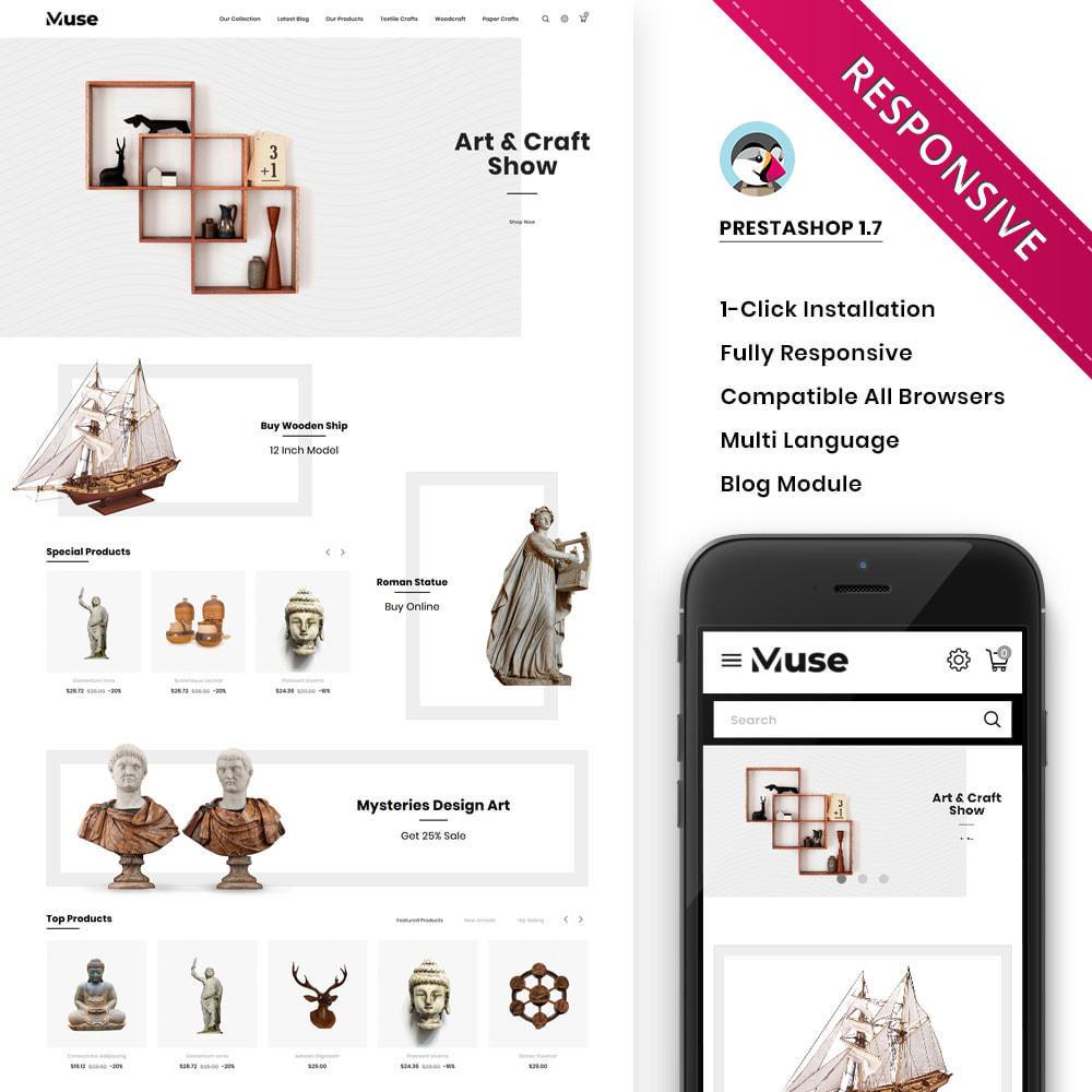 theme - Art & Culture - Muse - boutique d'art - 2