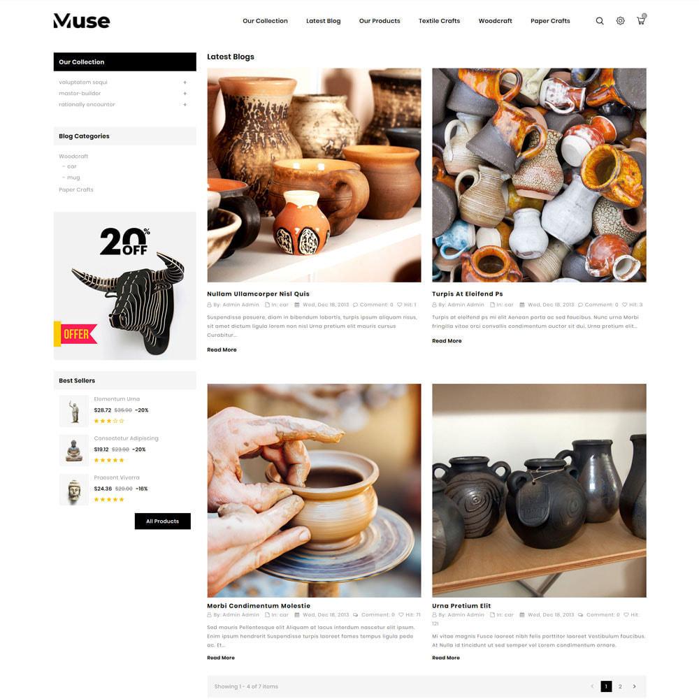theme - Art & Culture - Muse - boutique d'art - 9