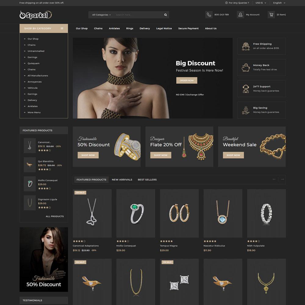 theme - Bijoux & Accessoires - Sparkal - La bijouterie - 7