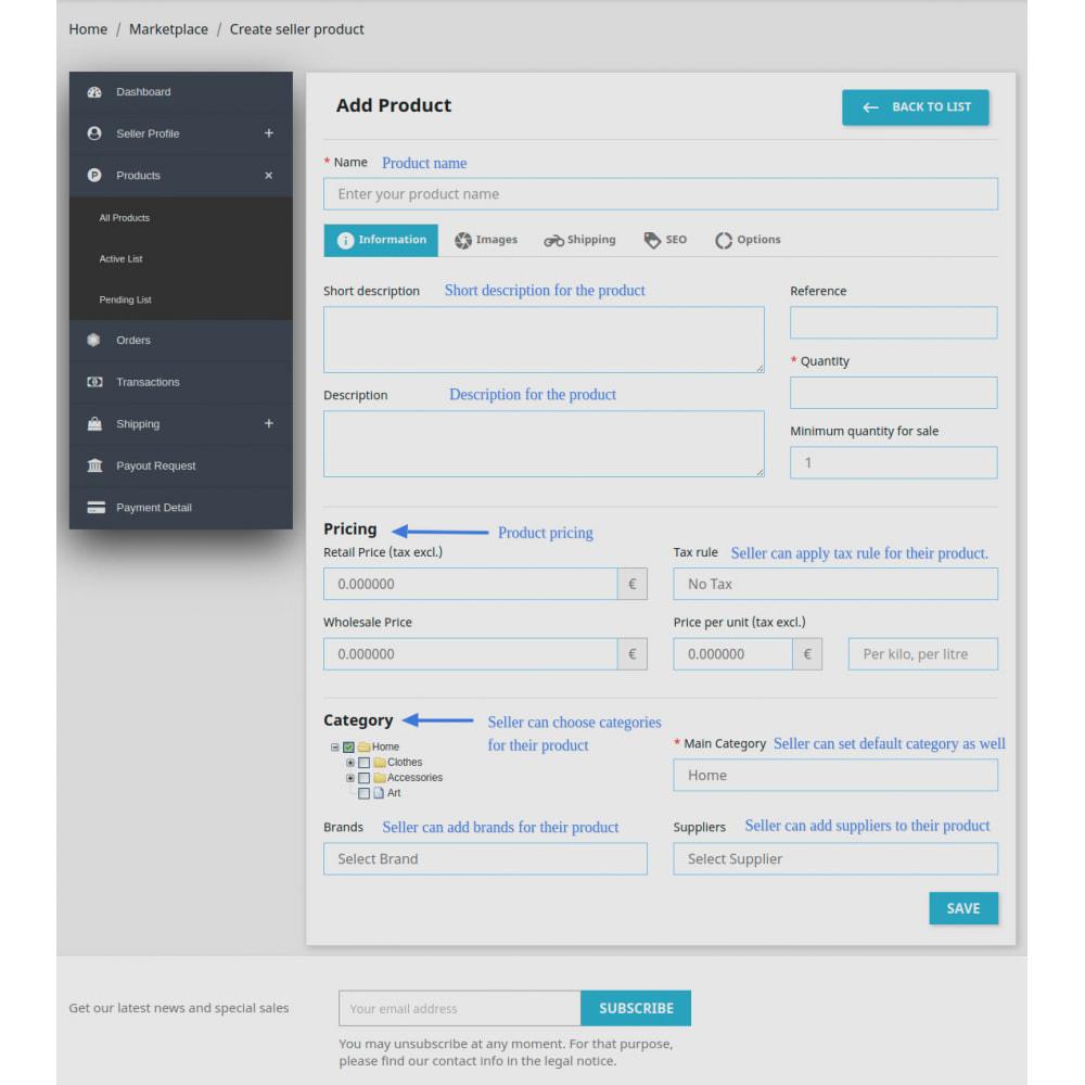 module - Marketplaces - Advanced Marketplace - Multi Vendor - 21
