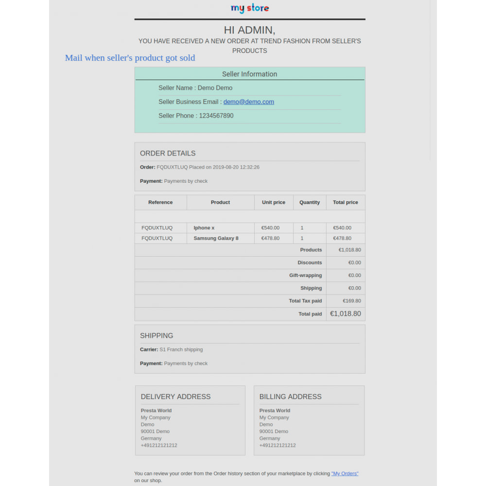 module - Marketplaces - Advanced Marketplace - Multi Vendor - 84