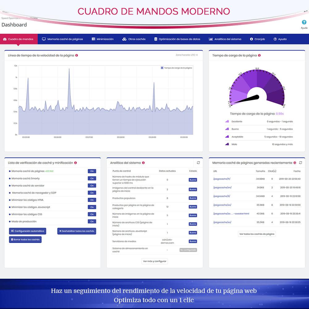 module - Rendimiento del sitio web - Page Cache Pro – Más velocidad y mejor SEO - 5
