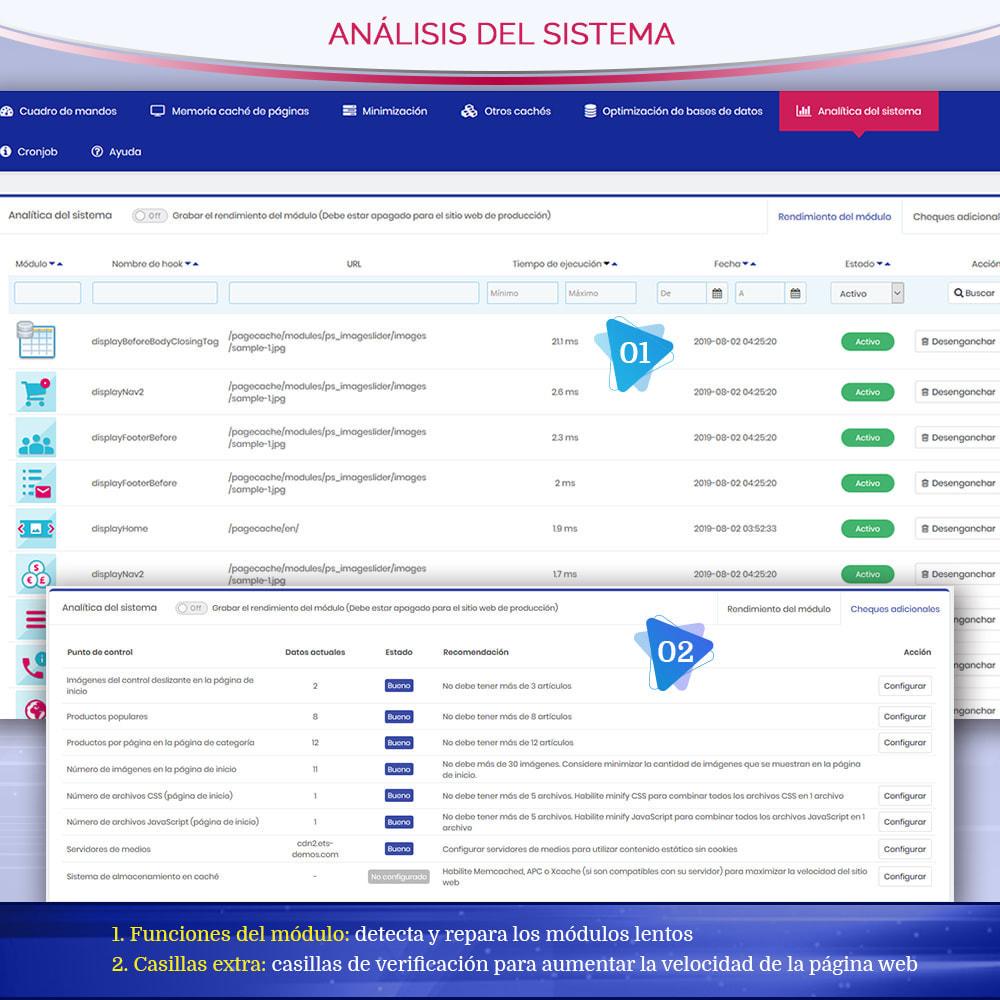 module - Rendimiento del sitio web - Page Cache Pro – Más velocidad y mejor SEO - 9