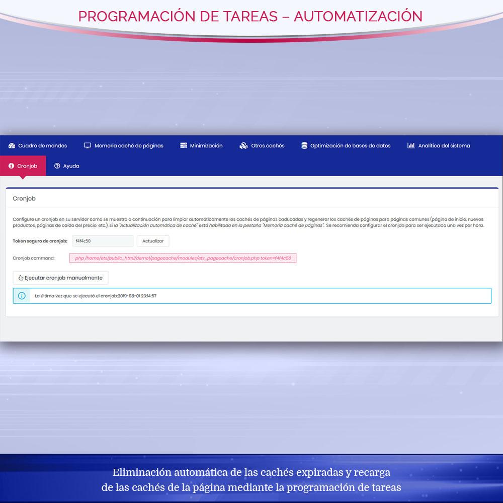 module - Rendimiento del sitio web - Page Cache Pro – Más velocidad y mejor SEO - 10