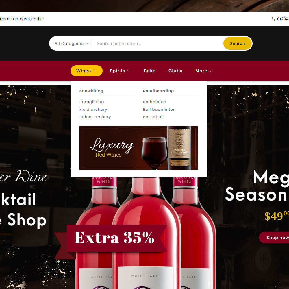theme - Drink & Tobacco - Mega Wine Store - 9