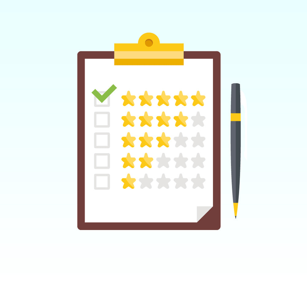 module - Customer Reviews - Reviews about your store / product - 1