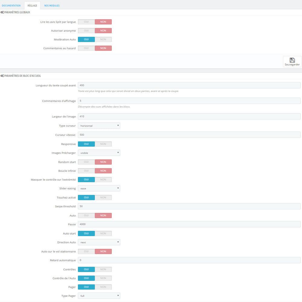 module - Avis clients - Avis sur votre shop / produit - 11