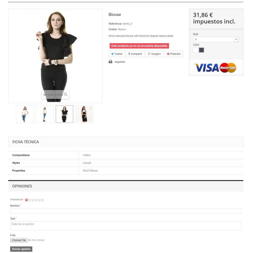 module - Comentarios de clientes - Comentarios sobre su tienda / producto - 7
