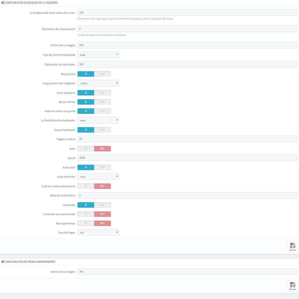 module - Comentarios de clientes - Comentarios sobre su tienda / producto - 12