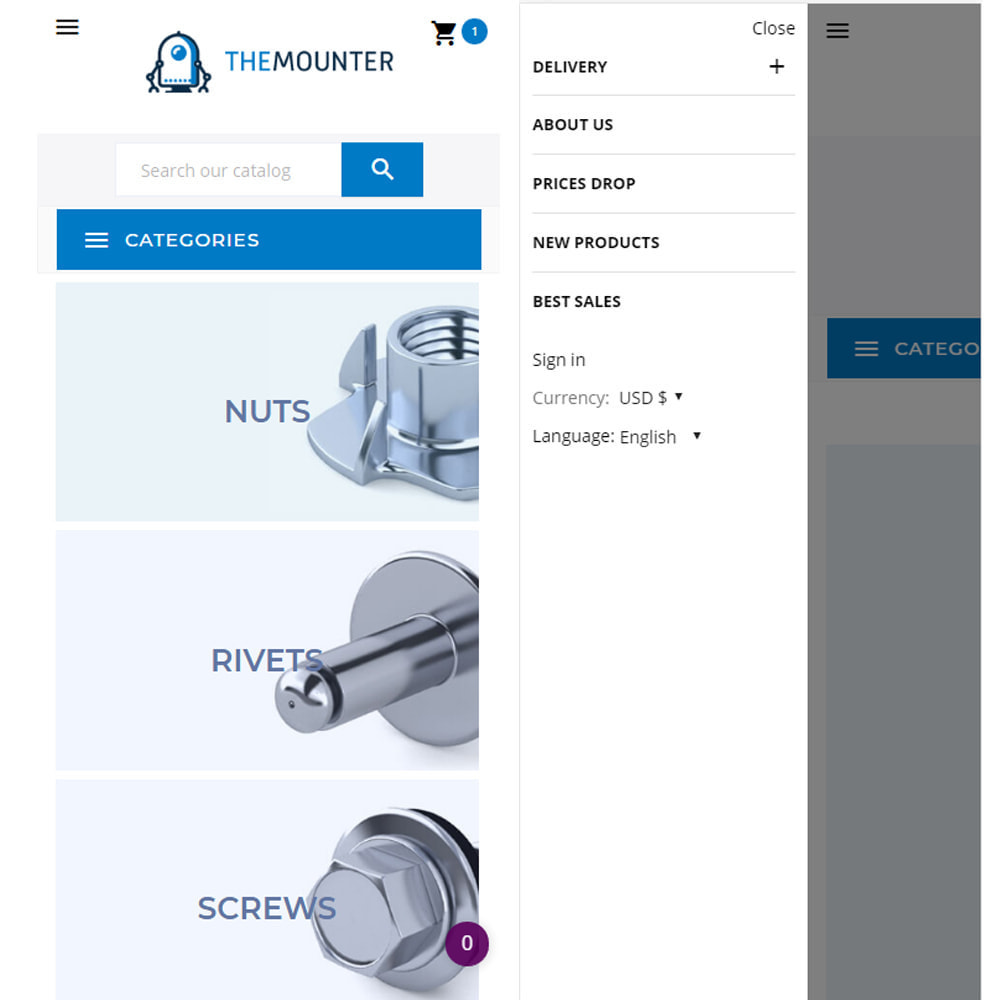 theme - Dom & Ogród - The mounter - Fastener store - 7