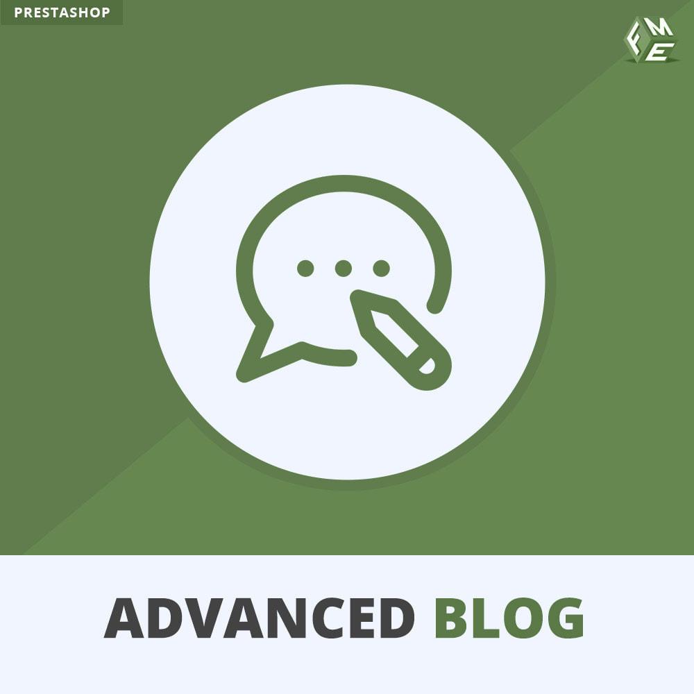module - Blog, Forum & Aktualności - Profesjonalny Blog – Blog Przyjazny SEO - 1