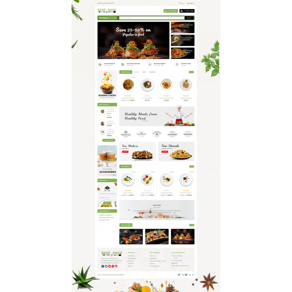 theme - Lebensmittel & Restaurants - Best Food Store - 2