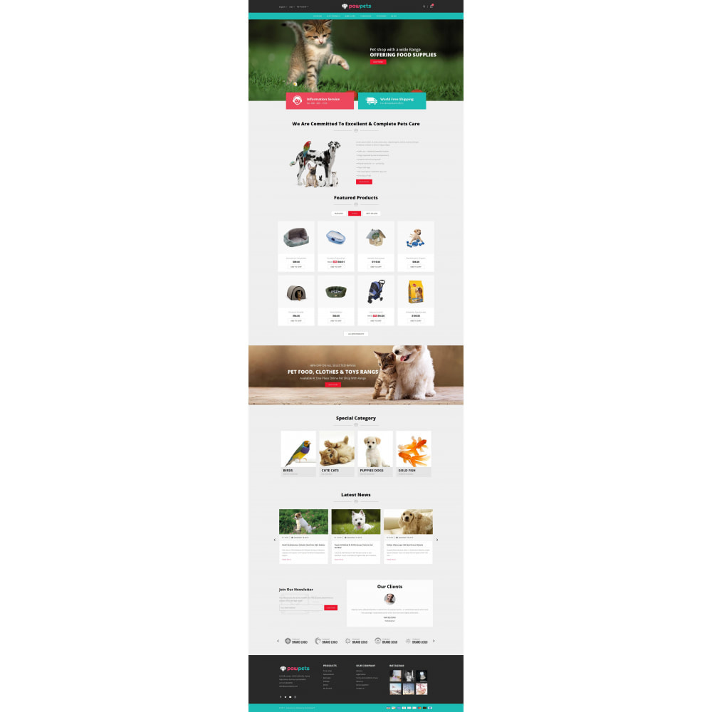 theme - Tier - Pets & Animals Store - 2