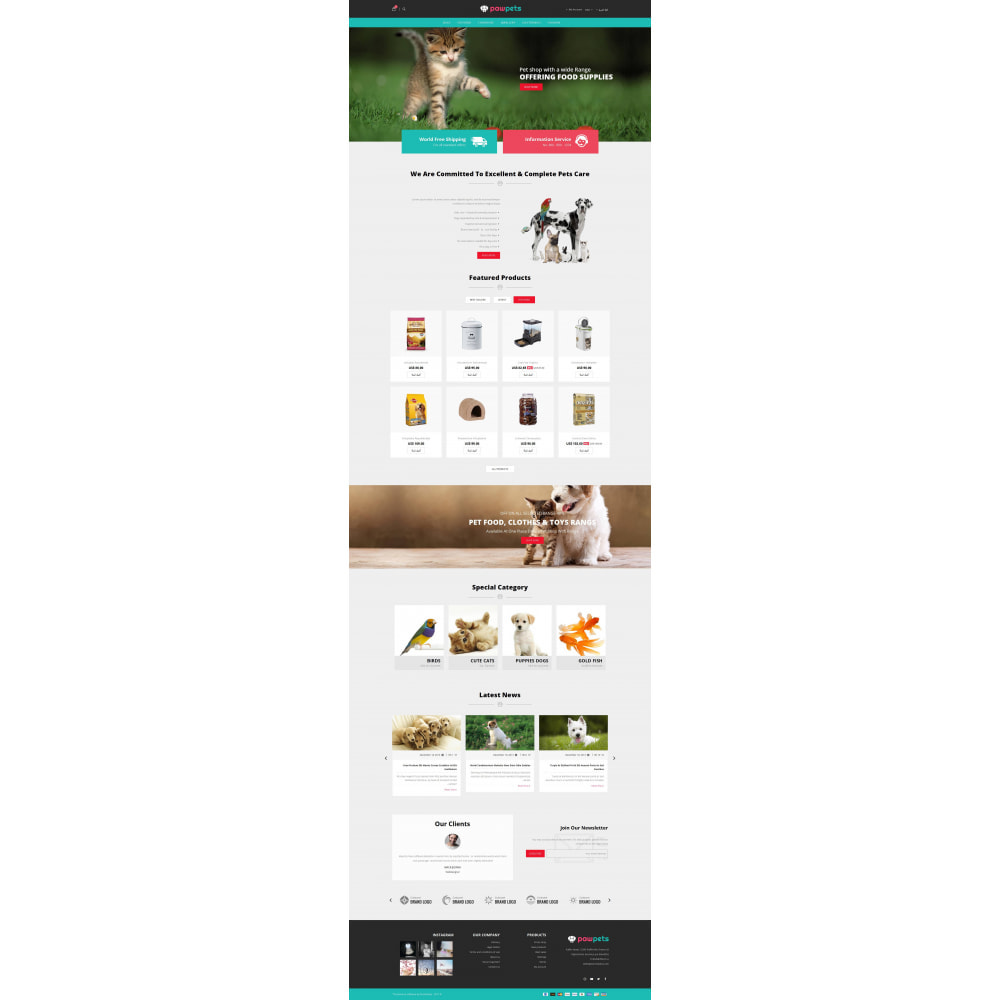 theme - Tier - Pets & Animals Store - 10