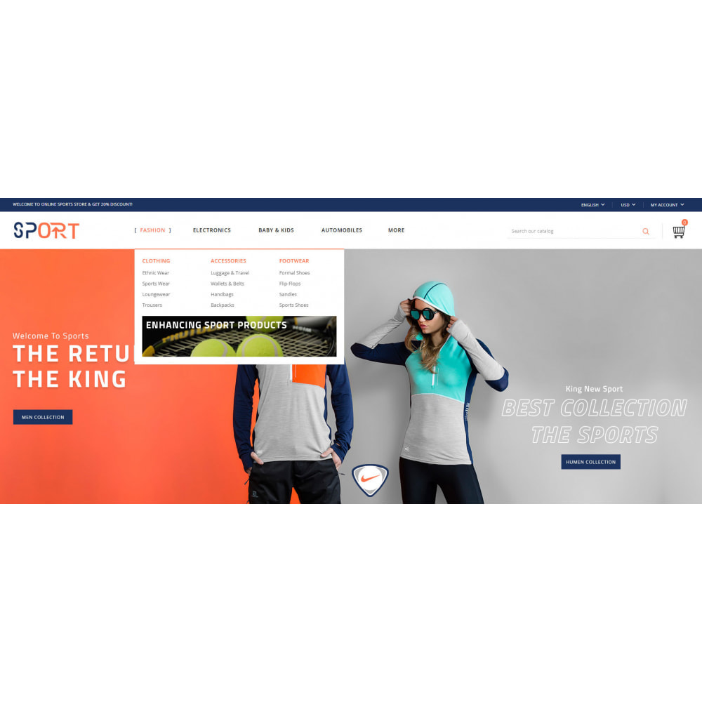 theme - Sports, Activities & Travel - Sports Kit Store - 6
