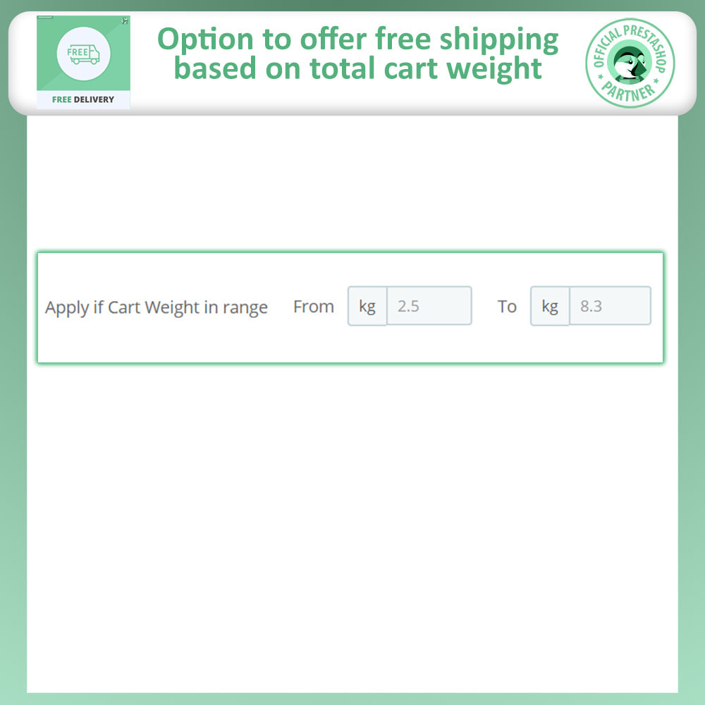 module - Versandkosten - Advance Free Shipping - 6