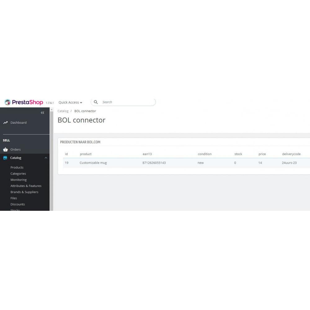 module - Marketplaces - BOL Connector - 3