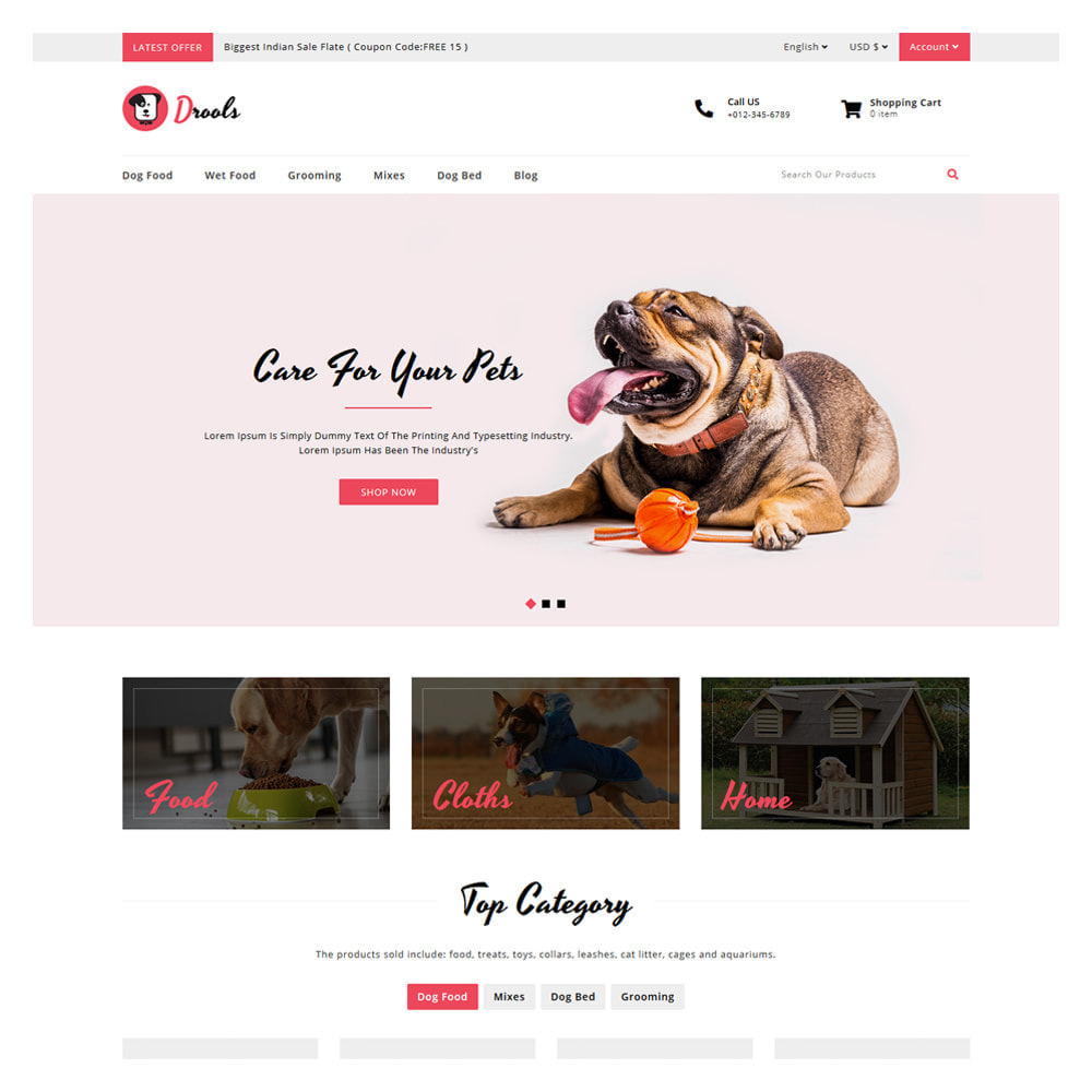 theme - Dieren - Drools Animals & Pet Store - 2