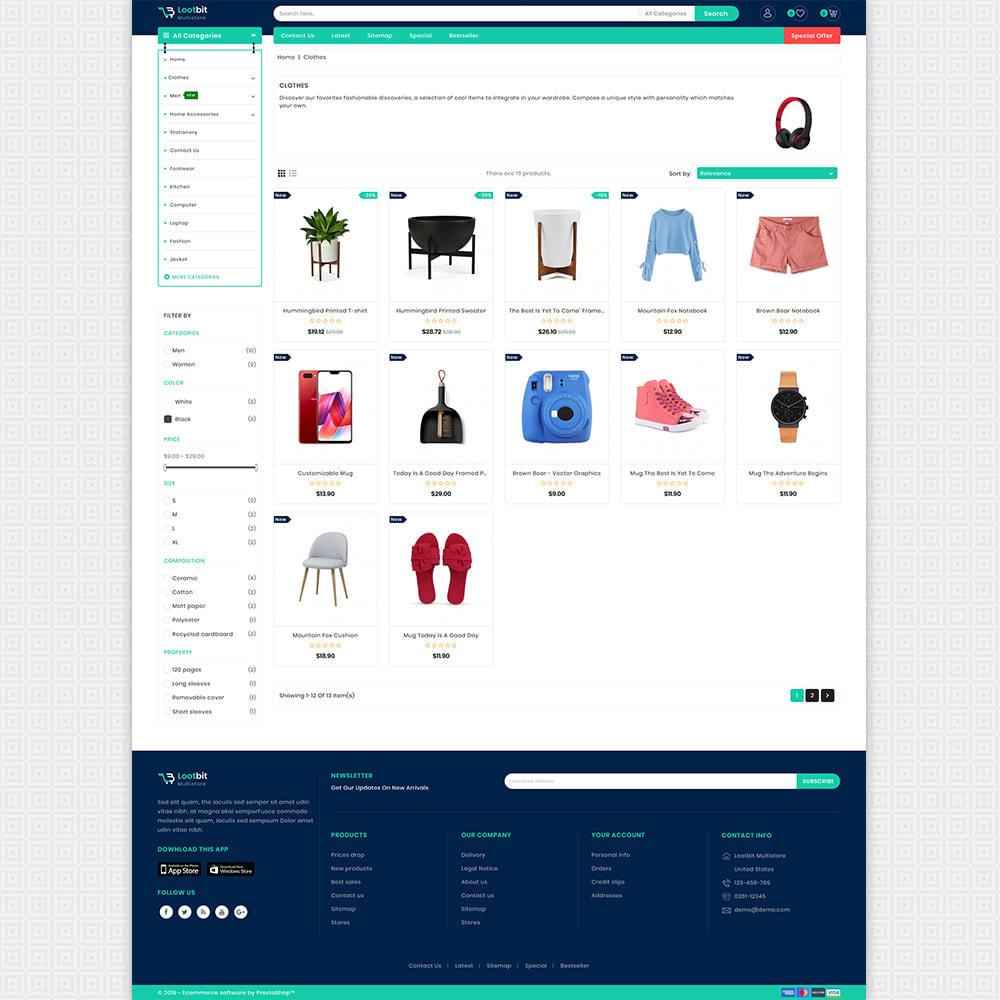 theme - Elektronik & High Tech - Lootbit - Multi Store Theme - 3