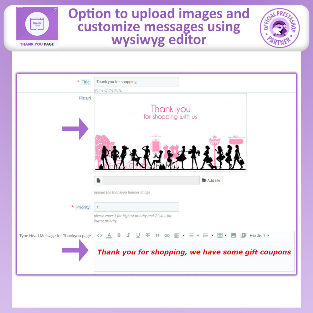 module - Promotions & Gifts - Advance Thank You Page - 4