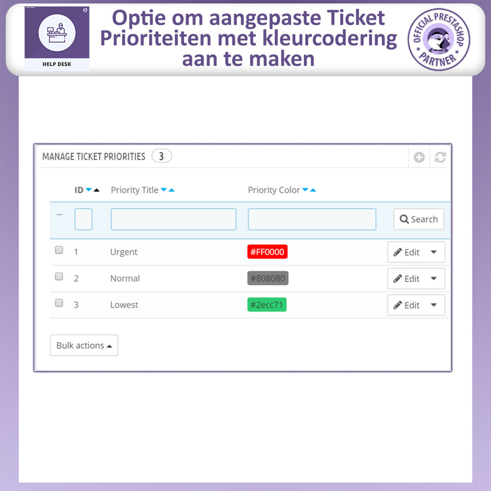 module - Klantenservice - Help Desk – Klantensupport Management Systeemmodule - 15