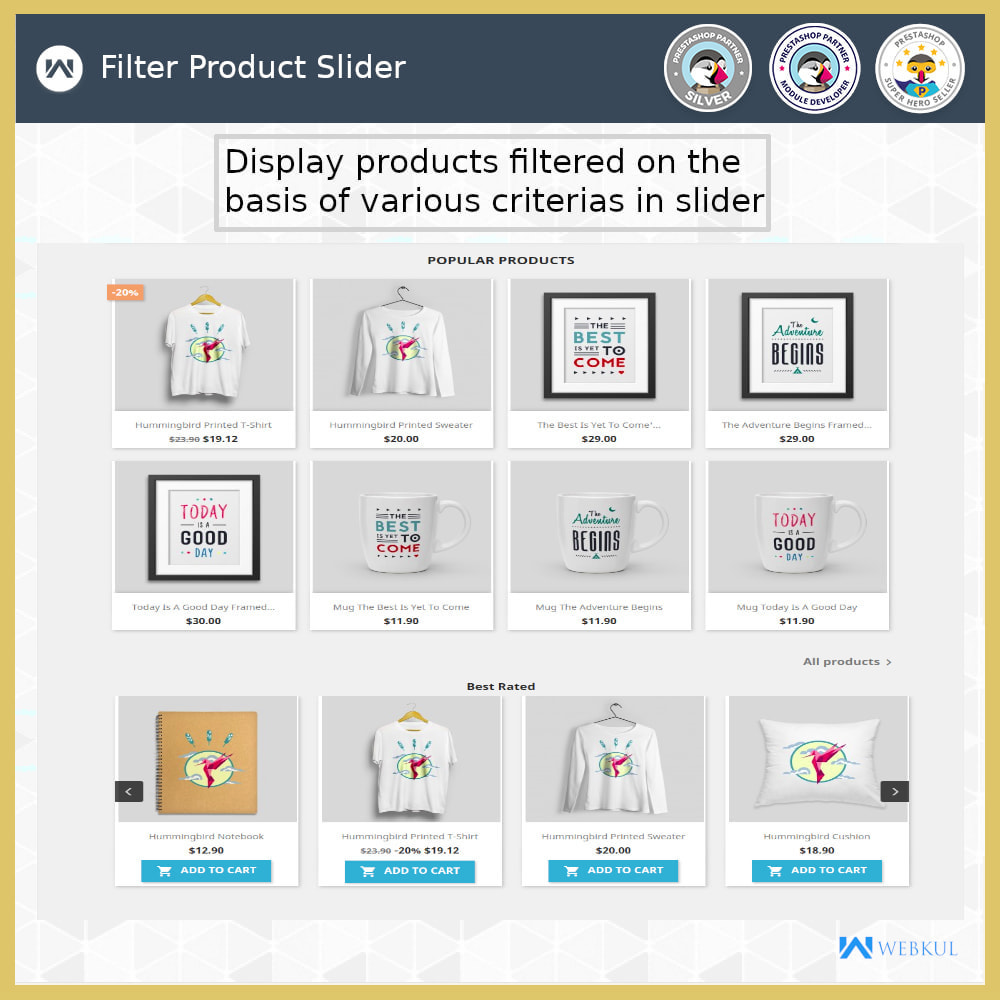 module - Sliders & Galleries - Product Slider - 6