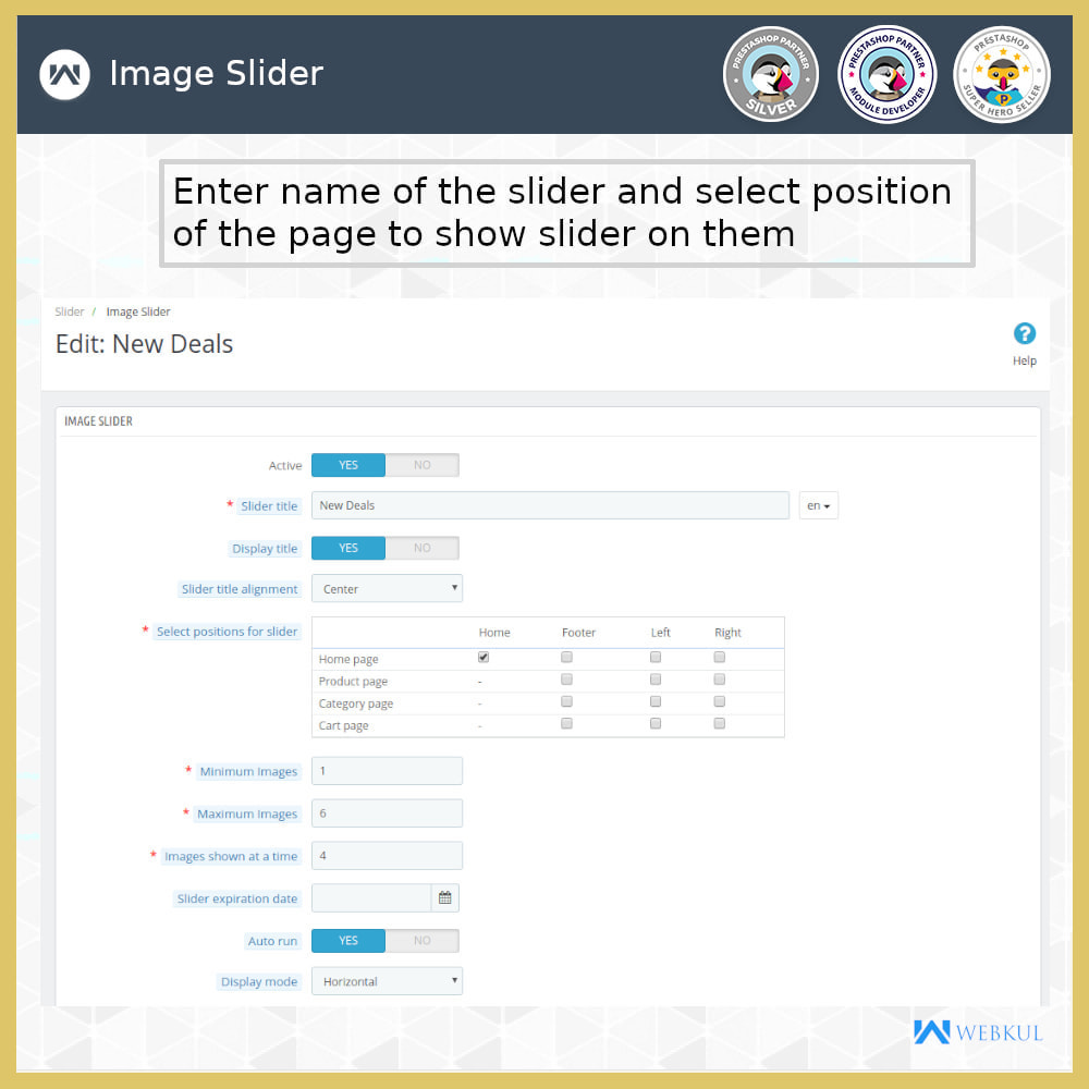 module - Sliders & Galleries - Product Slider - 13
