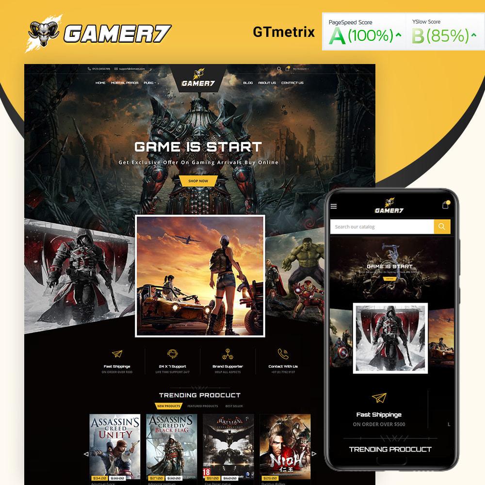theme - Sport, Activiteiten & Reizen - Gamer7 Game Store - 1