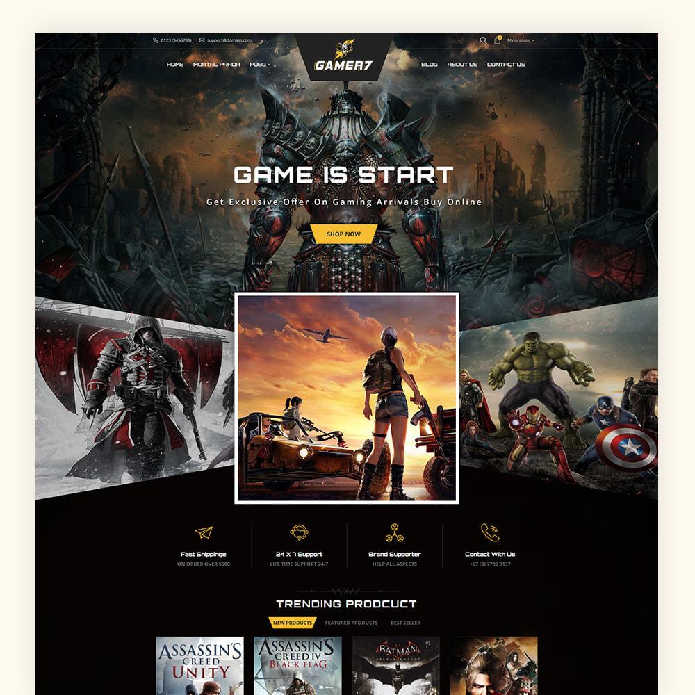 theme - Sport, Activiteiten & Reizen - Gamer7 Game Store - 2