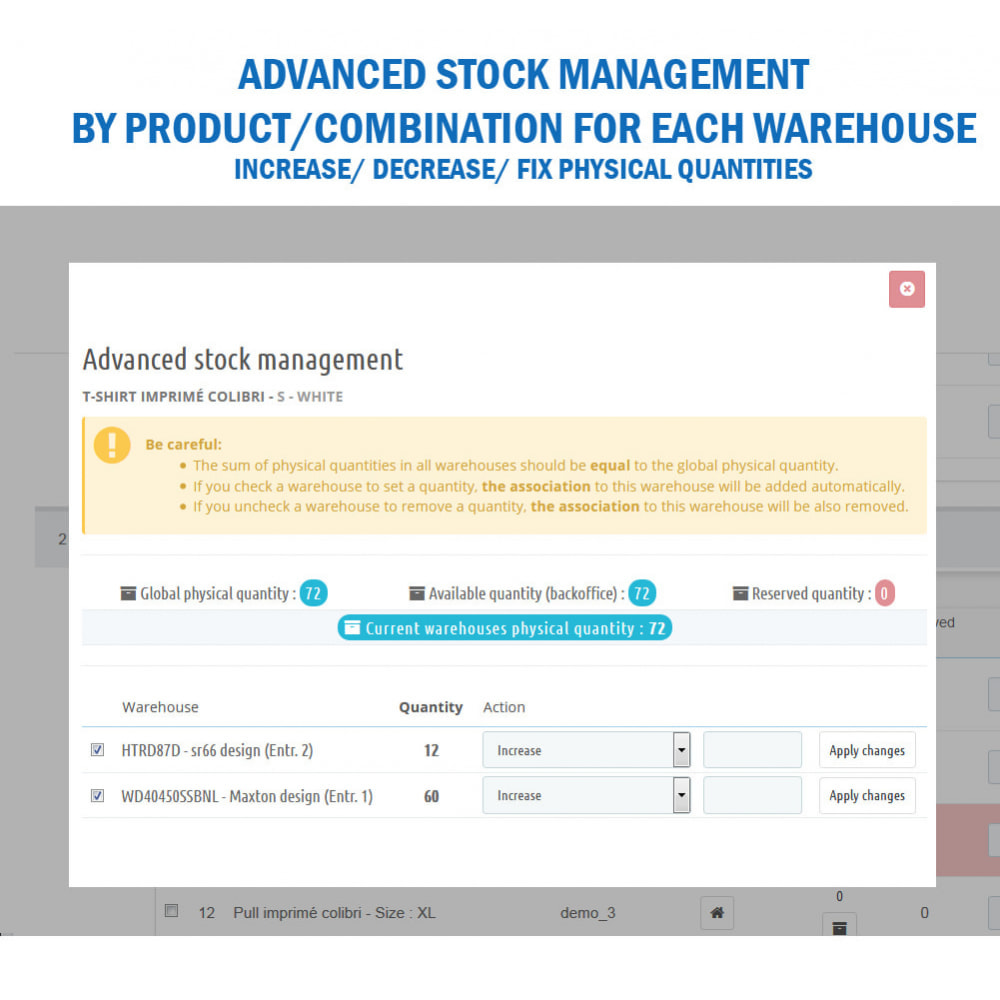 module - Stock & Leveranciersbeheer - Wk Warehouses Management - 8