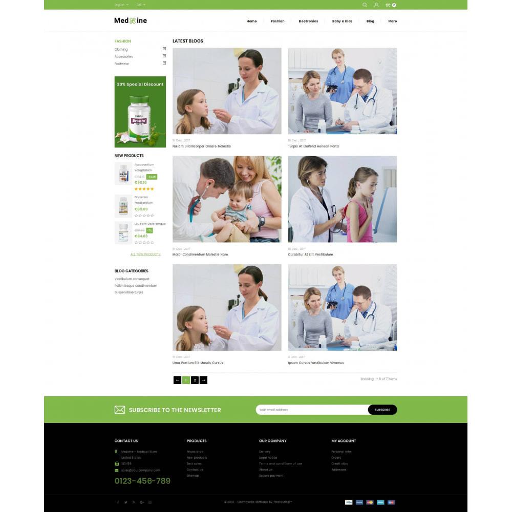 theme - Health & Beauty - Medxine - Medical Store - 9