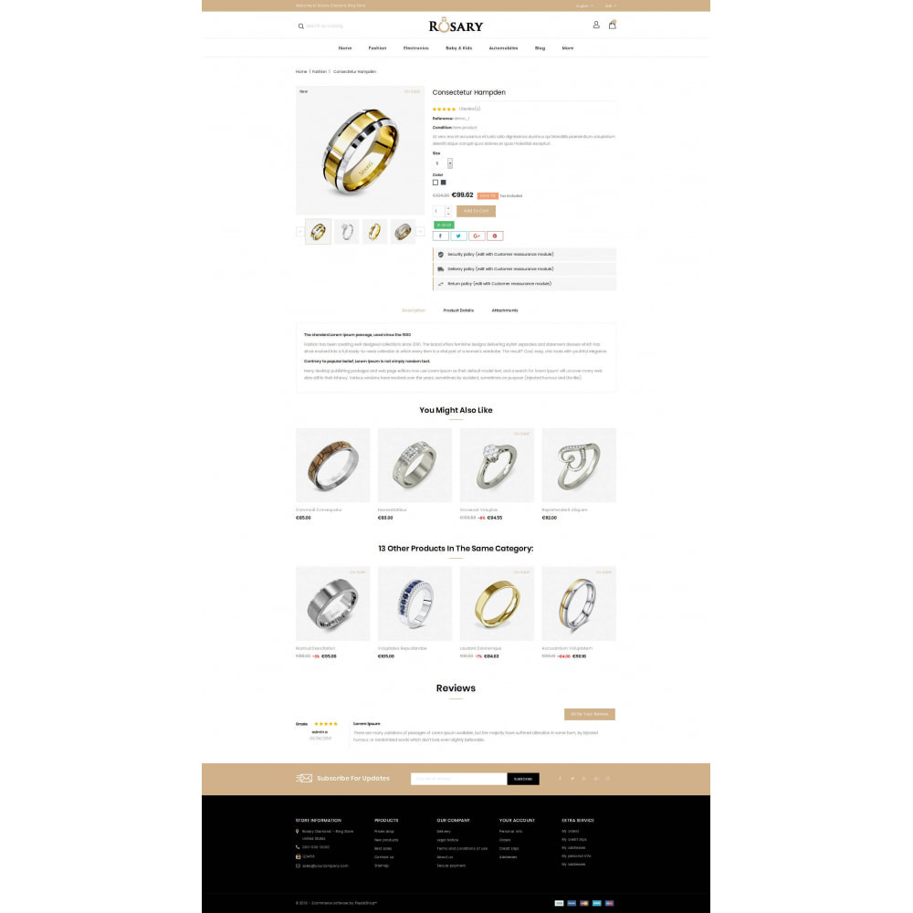 theme - Biżuteria & Akcesoria - Rosary Diamond Store - 5